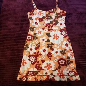 Roxy sundress with ruffle hem